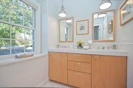 vanity lighting for bathroom. Modern Vanity Lighting Bathroom Contemporary With Double Hung Window For