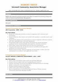 condo association budget template community association manager resume samples qwikresume