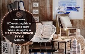 hamptons beach style