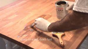 Refinish Kitchen Table Top How Do You Refinish A Wood Kitchen Table Youtube