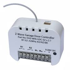 z wave garage door 2ZWave Garage Door Opener  U Control Electrical