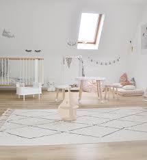 lorena cs kids room bereber rug beige