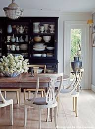 laurel home fabulous dining room by ruby beets antiques i adore the gustavian swedish antiques bleached pale floor and all juxtaposed against the black