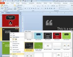 Free Quotes Powerpoint Layout Template