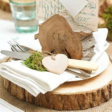 wedding cake stand ideas tree trunk slice diy