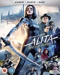 <b>Alita</b>: <b>Battle Angel</b> 3D, 4K UHD and Blu-Ray 2019: Amazon.co.uk ...