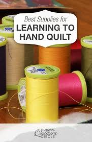 Best Supplies for Learning How to Hand Quilt | Hand quilting ... & Best Supplies for Learning How to Hand Quilt Adamdwight.com