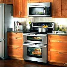 above oven microwave. Above Oven Microwave Double Wall With Over The Range Microwaves Home Depot E
