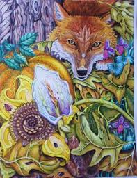 the fox color me your way ilrated by pam smart colored by lynn corbin