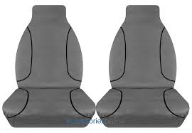 tras toyota hilux single cab workmate sr 11 2016 onwards canvas seat covers