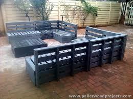 Innovative Pallet Patio Furniture Plans 1494 Best Images About  Palletscaixotes On Pinterest Pallet