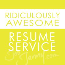 Resume Service Awesome Ridiculously Awesome Resume Service JobJenny