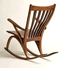 Wooden Rocking Chair Plans Home Design and Architecture Styles Ideas