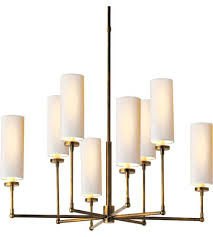 visual comfort chandeliers visual comfort 8 light inch hand rubbed antique brass chandelier ceiling light visual