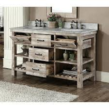 Vanities Rustic Bathroom Vanity Double Sink Rustic Bathroom Vanity