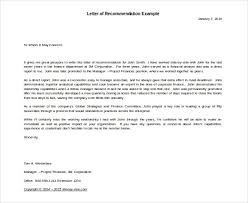 Letter Of Recommendation For Immigration Purposes 42 Reference Letter Templates Pdf Doc Free Premium Templates
