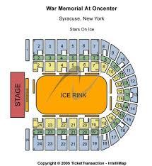 War Memorial At Oncenter Syracuse Ny Seating Chart Best