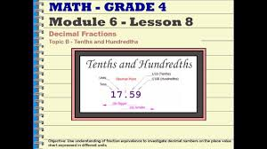 Fraction Chart Up To 100 Fraction Equivalence And Decimal Numbers Examples Videos