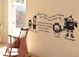 the wizard of oz wall art decal vinyl sticker home by on wizard of oz wall art with 14 wizard of oz wall decor decorating with modern wizard of oz