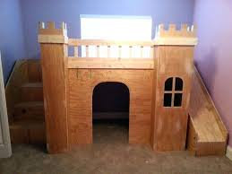 Kids Castle Bed Castle Bunk Bed Play Space Transitional Kids Home ...