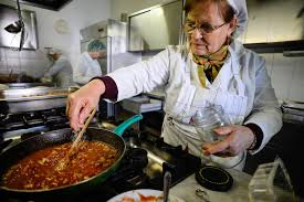 Soup Kitchen Meal Gourmet Food Dished Out In Crisis Hit Italys Soup Kitchens The