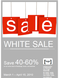 sale flyers printable event and promotion signs xerox for small medium