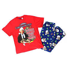 Lampoon's Christmas Vacation Mens Pajamas Set