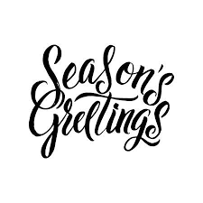 seasons greetings clip art black and white.  Art Seasons Greetings Calligraphy Greeting Card Black Typography On White  Background Stock Vector  68697934 On Clip Art And