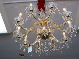 italy hand cut ten light crystal chandelier for