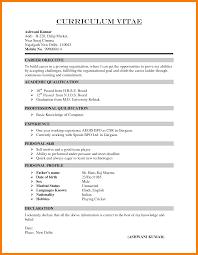 9 Cv Resume Example Xavierax