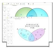 Venn Diagram With 5 Circles 2 Circle Venn Diagram Template Umbrello Co