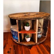 cable reel craft table diy spool tables