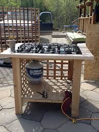 my outdoor stove kitchen regarding gas cooktop decorations 3