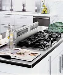 island cooktop vent.  Vent Downdraft Range Hood Mounted On Kitchen Island All About Vent Hoods To Island Cooktop