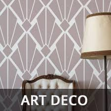 art deco stencils on art deco wall stencils uk with pattern stencils range of pattern designs suitable for home