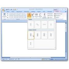 selecting mathematical symbols