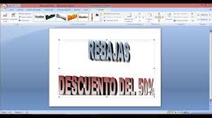 Formato De Afiches En Word Como Hacer Carteles En Word Youtube