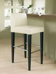 ... Large Size of Bar Stools:mid Century Modern Swivel Bar Stool With  Leather Upholstered Back ...