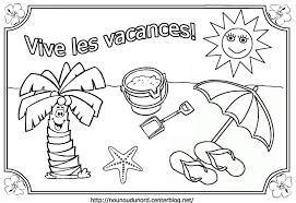 Vacances Coloriages Th Matiques