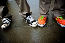 converse vs vans. converse vs vans   by harveyben o
