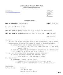 Shanann Bella And Celeste Watts 25 Page Autopsy Report True