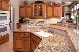 white kitchen countertops with oak cabinets custom luxury kitchen with granite counters oak cabinets stock white