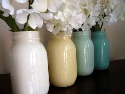 Cute Jar Decorating Ideas Creative Idea Great Mason Jar Vases Ideas For White Flowers 93