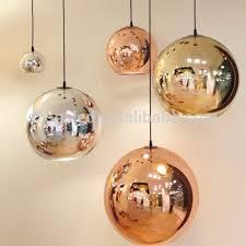 pendant glass lighting. Copper/ Chrome/Gold Glass Pendant Lamp Round Ball Mirror Light/Fancy Modern Lighting I