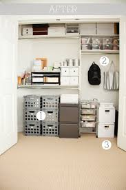 office closet organization. boxwood clippings_office closet after office organization e