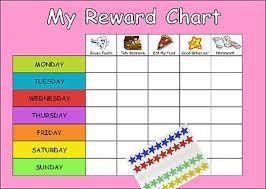 Childrens Incentive Reward Chart Routine Behaviour Chart