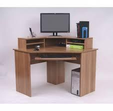 Ferrera Corner Desk, Oak Effect, 740 X 1000 X 1000Mm | Staples Throughout