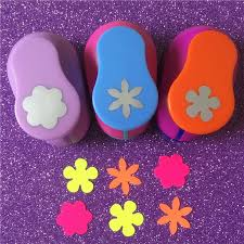 Flower Shaped Paper Punches Free Shipping 3pcs Different Beautiful Flowers Shape 1 Inch Craft Punch Set Scrapbook Diy Paper Cutter Eva Foam Hole Punches