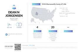 Dean N Jorgensen, (801) 942-0531, 7676 S Riverwood Dr, Sandy, UT ...