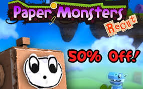Image result for Paper Monster Recut Deluxe
